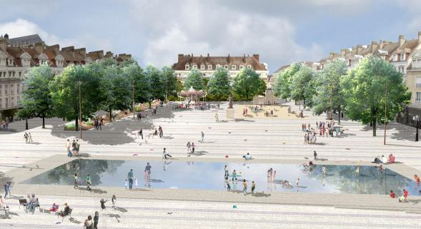 Beauvais la ville se relooke oise m dia for Piscine beauvais