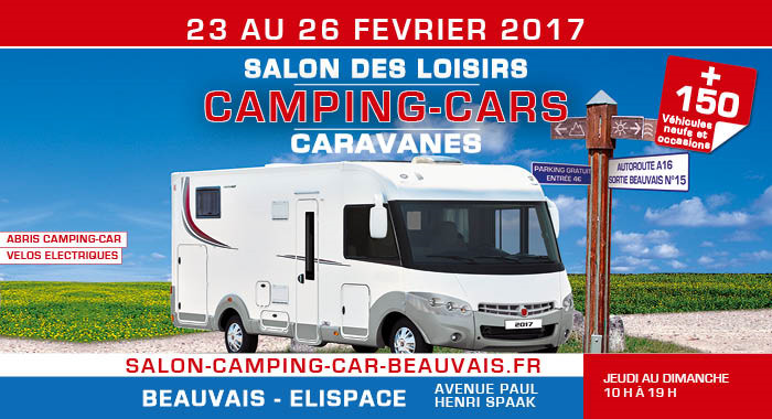 beauvais le salon du camping cars de beauvais oise m dia. Black Bedroom Furniture Sets. Home Design Ideas