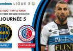 Domino's Ligue 2, journée 5, le FC Chambly face à Chateauroux